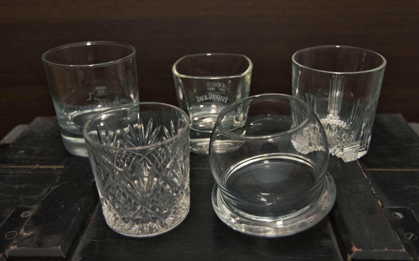 Tumbler Gläser in diversen Formen