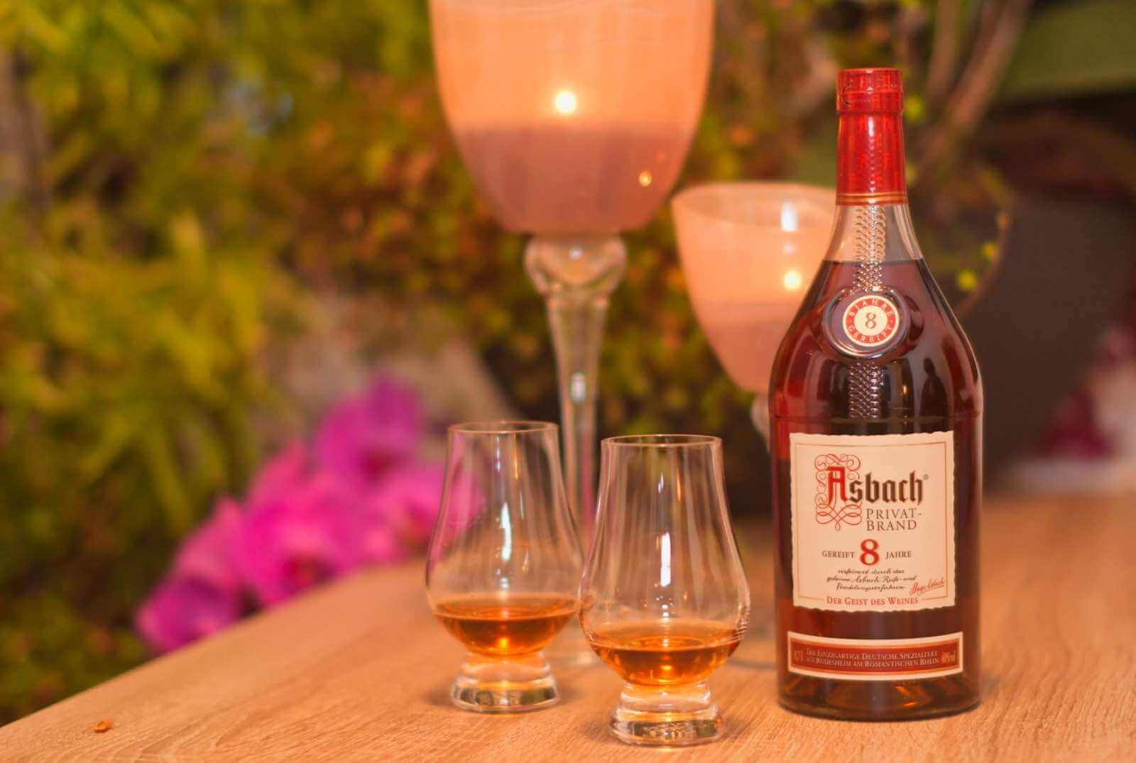 Asbach Privatbrand Weinbrnad - 8 Jahre gereift