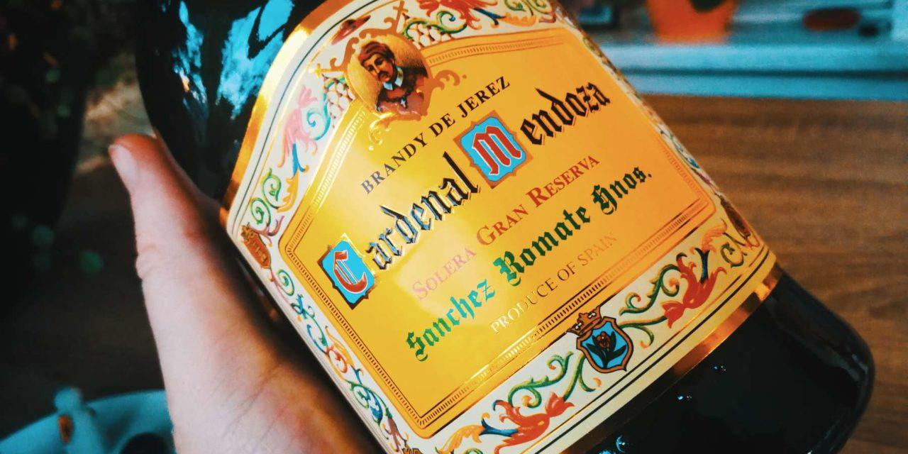Brandy de Jerez Cardenal Mendoza Solera Gran Reserva Über 200 Jahre Erfahrung in einer Flasche