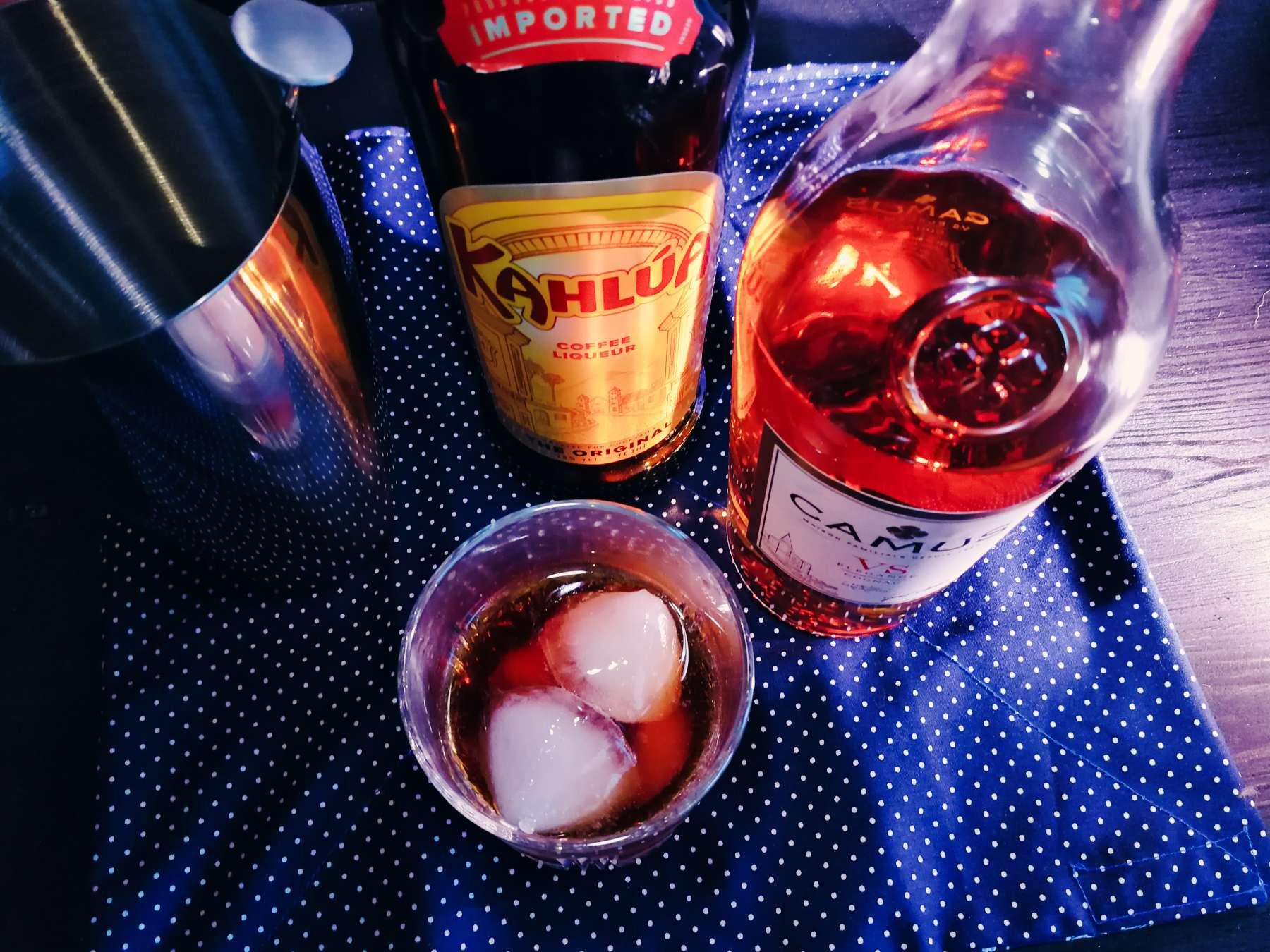 Napoleon Noir -  Cognac Cocktail - Camus VS Elegance - Kahlua