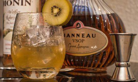 Die LeGnac Cocktail Serie – Artikel Nr. 3 – The Kiwi – Cocktail mit Armagnac.