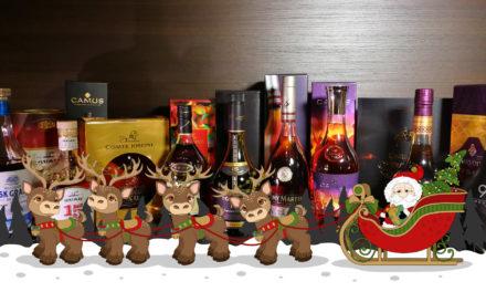 Die 5 passendsten Weihnachtsgeschenke rund um Cognac, Armagnac, Weinbrand und Brandy